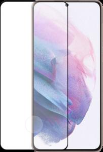 Azuri tempered glass - black frame - for Samsung Galaxy S21+