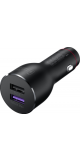 Car charger + USB-C Data cable - Supercharge (Max 40W) Black