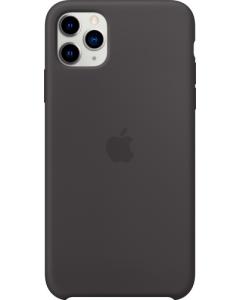 iPHONE 11 PRO MAX SILICONE CASE BLACK