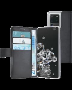 Azuri walletcase -black-Samsung S20 Ultra