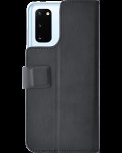 Azuri walletcase- black - Samsung S20