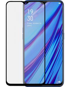 Azuri Tempered Glass flat RINOX ARMOR - black frame - Oppo A5/A9 2020