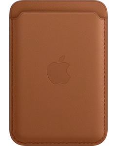 iPhone Leather Wallet with MagSafe - Saddle Brown