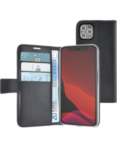 Azuri walletcase with magnetic closure & cardslots - black - iPhone 12 Pro Max