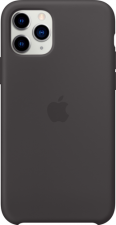 iPHONE 11 PRO SILICONE CASE BLACK