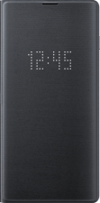Led View Cover Galaxy S10 Black