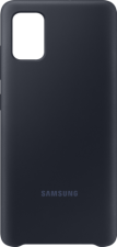 Samsung silicone cover - black - Samsung A51