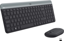 Logitech Wireless Keyboard and Mouse Combo Slim US INTL MK470