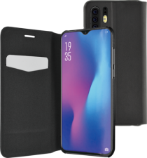 Azuri booklet ultra thin with stand function - black - Huawei P30 Pro