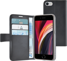 Azuri walletcase with magnetic closure - black - for Apple iPhone 7/8/SE(2020)