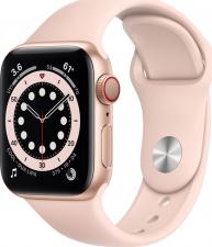 Watch Series 6 Cellular 40mm Gold Pink Sport Band