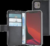 Azuri walletcase with magnetic closure & cardslots - black - iPhone 12 mini