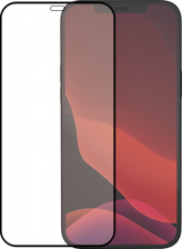 Azuri Tempered Glass flat RINOX ARMOR - black frame - for iPhone 12 Pro Max FG