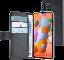 Azuri walletcase - black - for Samsung Galaxy A12