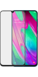 Azuri Tempered Glass flat RINOX ARMOR -black - Samsung A40